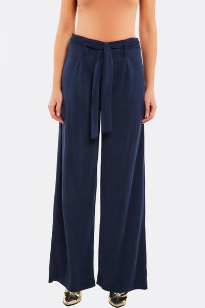 Navy Modal Blend Trousers