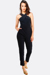 Black Jumpsuit With Side Pockets