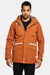 Golden Brown Hooded Jacket
