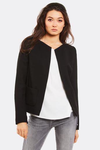 2138d863271 Black Blazer With Side Pockets