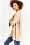 Beige Thin Cardigan