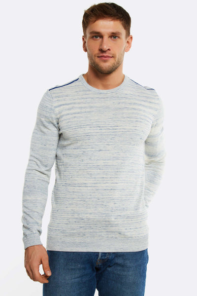 Pale Blue Cotton Jumper