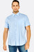 Light Blue Short Sleeve Cotton Shirt