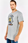 Light Grey Printed T-Shirt