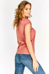 Pink Short Sleeve T-Shirt