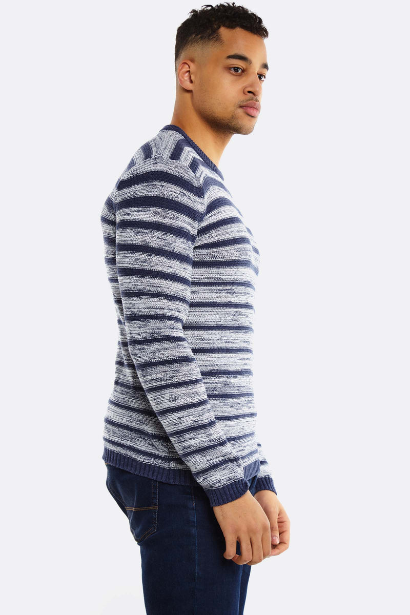 Navy Striped Jumper