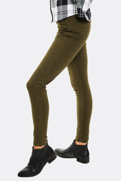 Green Skinny Jeans
