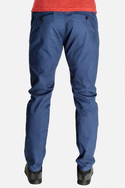 Navy Blue Straight Leg Trousers