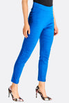 Deep Blue High Waisted Skinny Fit Pants