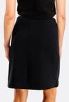 Black Short Skirt With Pockets