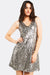 Grey Sequin Dress