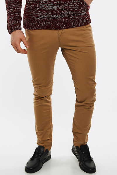 Light Brown Skinny Trousers