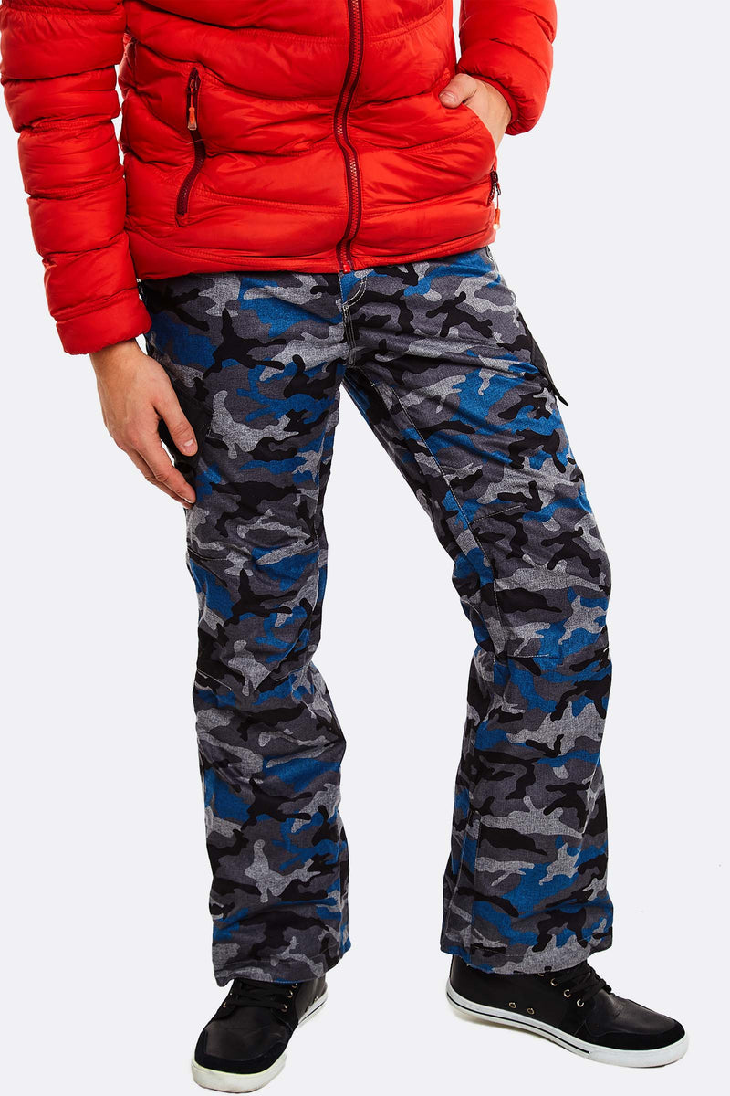 Grey Camouflage Trousers