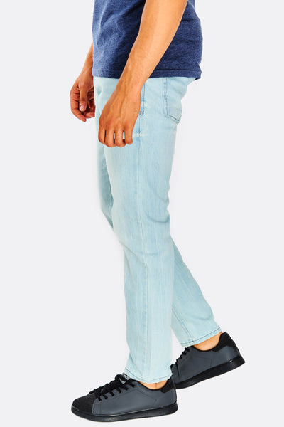 Pale Blue Straight Jeans