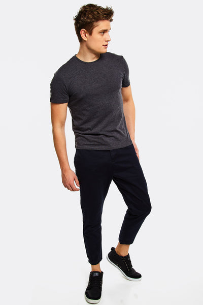 Cropped Mens Trousers