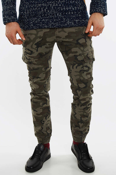Green Camouflage Trousers