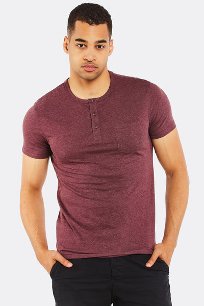 Maroon Cotton T-Shirt
