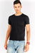 Black T-Shirt With Chest Pocket