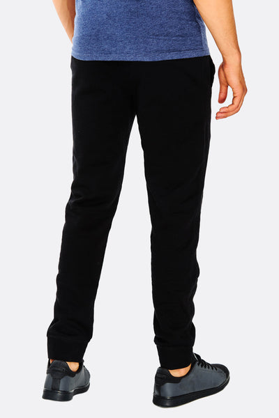 Black Trousers With Drawstring Through Waist
