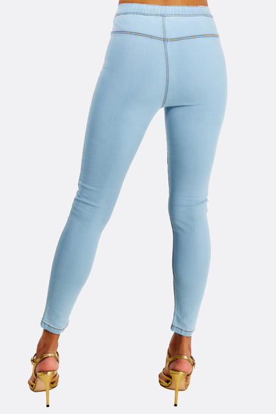 Blue High Waisted Jeans