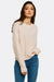 Pastel Pink Jumper With Round Neck