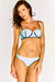 Blue Structured Bikini Set