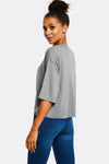 Light Grey Modal Blend T-Shirt