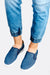 Blue Slip On Shoes