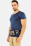 Grey Printed Waist Bag