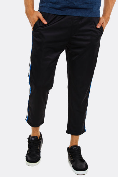 Cropped mens sport trousers
