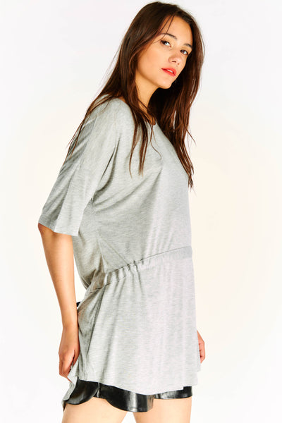 Light Grey Long Blouse