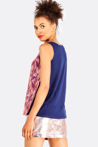 Multicoloured Ruffled Top