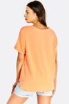 Coral Loose Fit T-Shirt