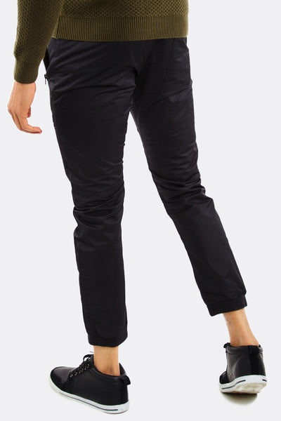 Black Trousers With Zipped Pockets