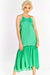 Bright Green Long Dress