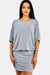 Light Grey Fine Knit Dress