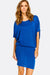 Blue Fine Knit Dress