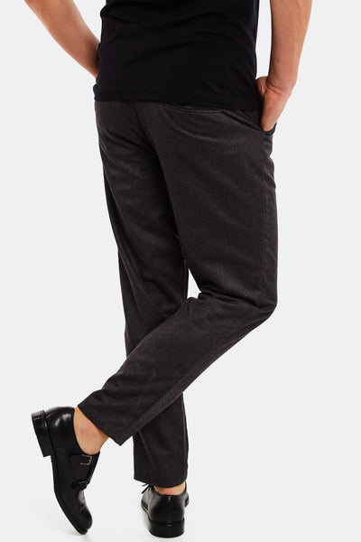 Grey Trousers With Side Pockets