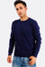 Navy Fine Knit Sweater