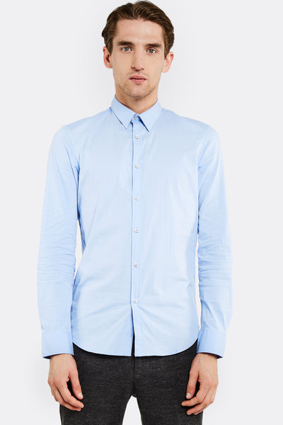Light Blue Shirt With Buttons