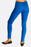 Bright Blue Skinny Jeans