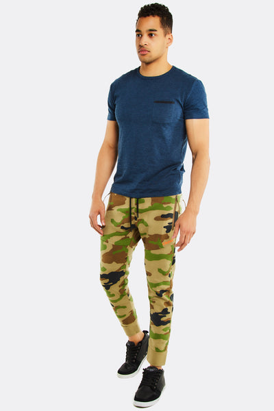 Loose fit mens trousers