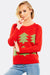 Red Jumper With Christmas Print