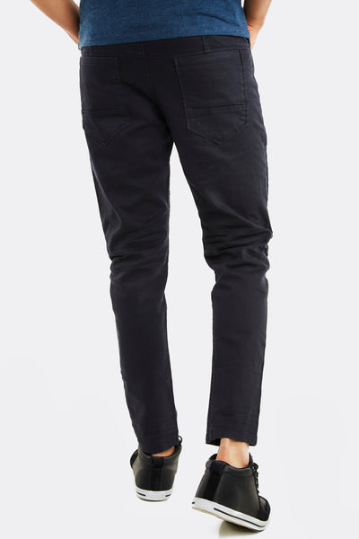 Black Trousers With Side Pockets