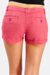 Dark Pink Low Waist Shorts