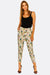 Multicolour Leaf Printed Trousers