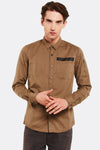 Khaki Cotton Shirt