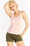 Light Pink Racerback Top