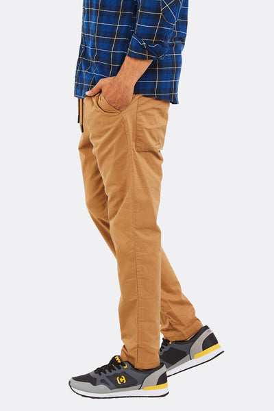 Brown Cotton Trousers