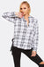 White Checkered Cotton Shirt